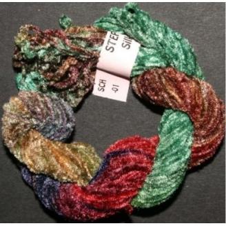 Chenille de soie multico 29