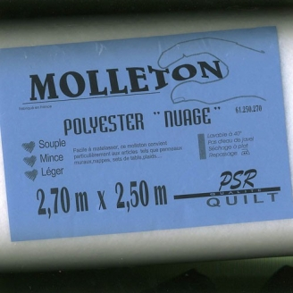 Molleton Nuage 250x270cm