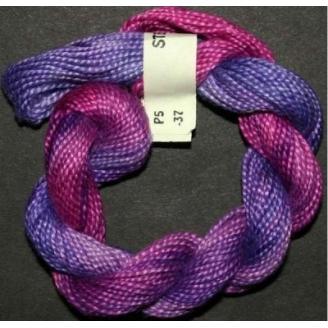 Perlé 5 Stef Francis fuchsia violet 37