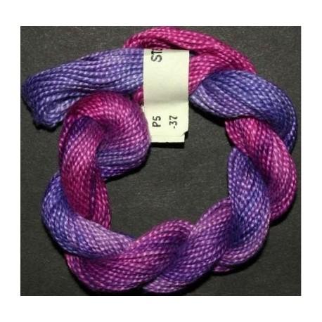 Perlé 5 Stef Francis jaune violet 39
