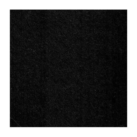 Feutrine de laine noir