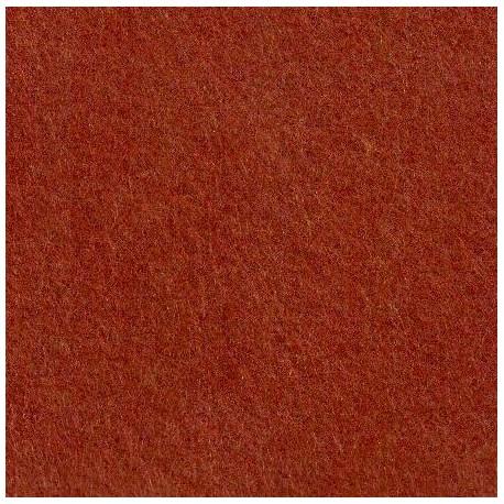 Feutrine de laine marronier