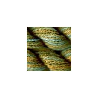 Coton perlé n°8 Oliver Twists vert jaune 10