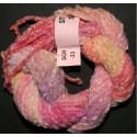 Chenille de soie rose 33
