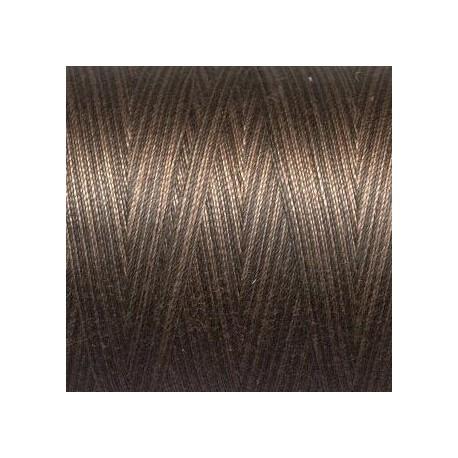 Fil Aurifil Mako 40 noir chocolat dégradé 4671