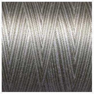 Fil Aurifil Mako 40 dégradé gris blanc 4670