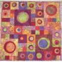 Couleurs d'été, Kit de patchwork contemporain