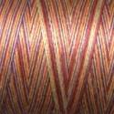 Fil coton Mako 28 orange violet jaune 4648