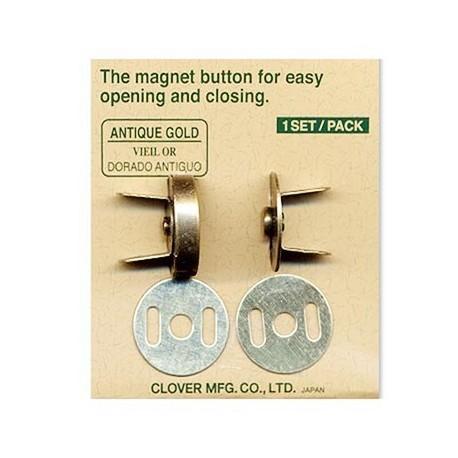 Fermoir magnétique pour Sac de Clover - Antique Gold