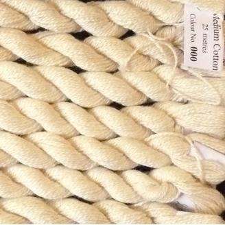 Coton Perlé n°8 O.Twists écru prêt à teindre