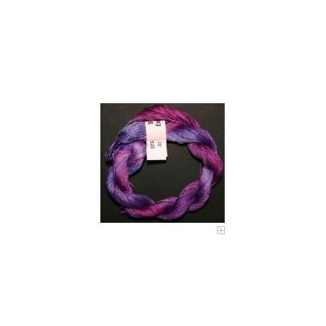 Soie fine Stef Francis violet 37