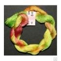 Soie extra fine Stef Francis jaune vert orange 45