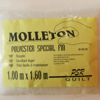 Molleton spécial fin 160x100cm