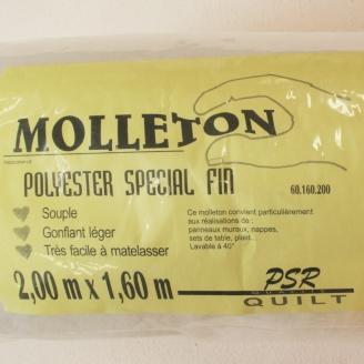 Molleton patchwork spécial fin 150x200cm