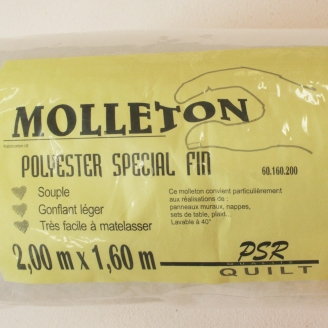 Molleton spécial fin 160x200cm