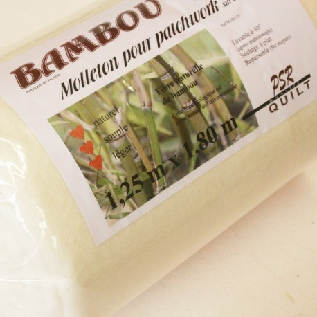 Molleton bambou 125x180cm