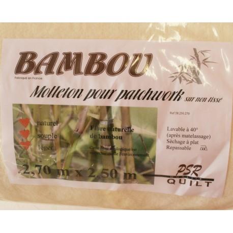 Molleton bambou 270x250 cm