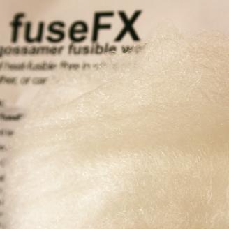 Fuse FX super-fin blanc 150 x 100 cm