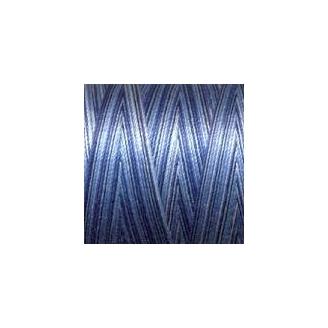 Fil coton Mako 28 dégradé bleu 4655
