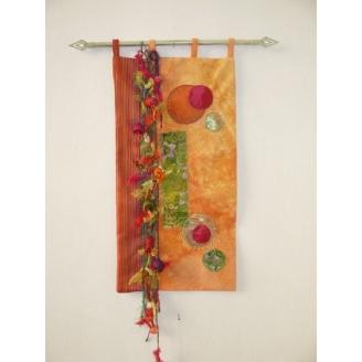 Mon petit jardin - fiche art textile à télécharger