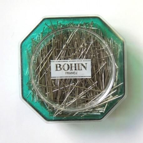 Epingles extra fines en acier Bohin