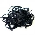 Ruban de soie S.Francis noir 4mm