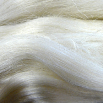 Gummy silk filament (fibres servant à la fabrication de papier de soie)