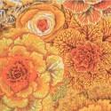 Tissu Philip Jacobs choux Brassica PJ51 brown