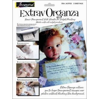 ExtravOrganza - feuilles d'Organza imprimables