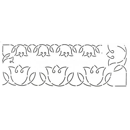 Stencil Roses (bordures)
