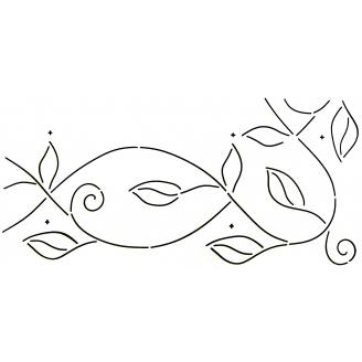 Stencil Liane (bordure)