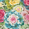 Tissu Philip Jacobs choux Brassica PJ51 Pastel