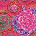 Tissu Philip Jacobs choux Brassica PJ51 Rouge