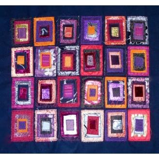 Fenêtre sur Cour - Kit Art Textile