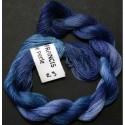 Coton perlé fin de Stef Francis bleu outremer 23