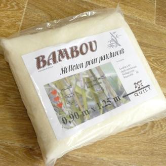 Molleton bambou 90 x 125 cm (sur non-tissé)