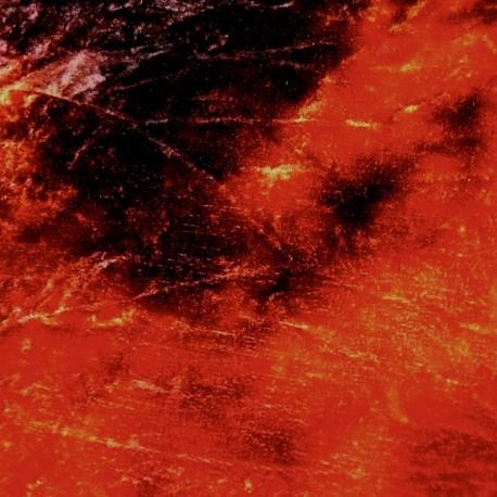 Coupon de velours teints main Rouge sombre noir
