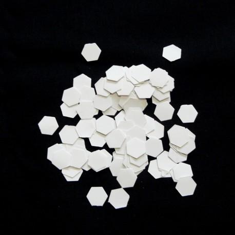 Hexagones de 1/4 inch (0,6 cm), Gabarits pour patchwork