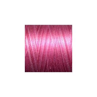 Fil Aurifil Mako 28 dégradé rose 4660
