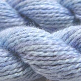 Coton perlé n°8 Oliver Twists azur 38