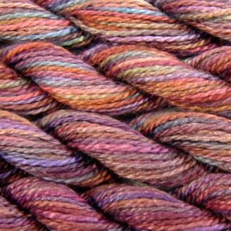 Coton perlé n°8 Oliver Twists lie de vin 11