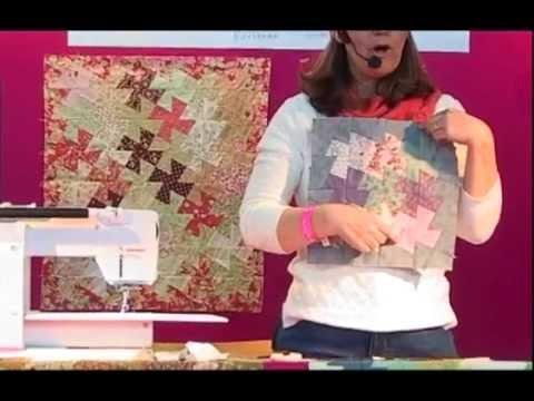 Comment faire un quilt aux moulins avec les gabarits de Marti Mitchell