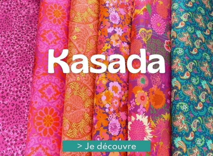 Collection de tissus patchworks Kasada de Moda